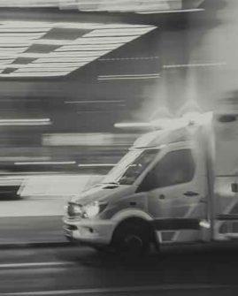 Unfallchirurgie Freiburg - ein rasender Krankenwagen